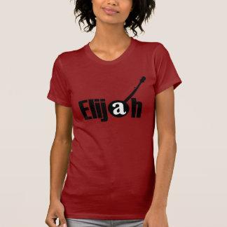 Het zwarte T-shirt van het Meisje van het Logo