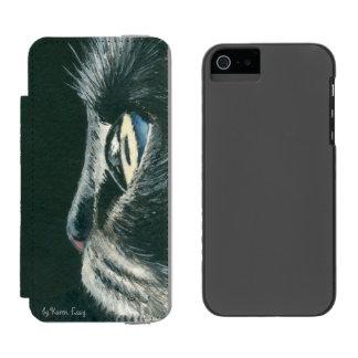 Het zwarte van iPhoneSE van de Kunst van de Kat