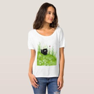 Het zwarte Verwarde Overhemd van de Kat door T Shirt