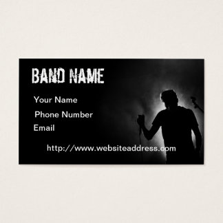 Het zwarte Visitekaartje van de Musicus Visitekaartjes