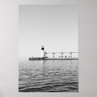 Het zwarte & Witte Poster van de Fotografie van de