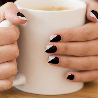Het zwarte Zilveren Minx Ontwerp van de Spijker Minx Nail Folie