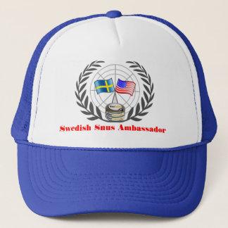 Het Zweedse Pet van de Ambassadeur Snus
