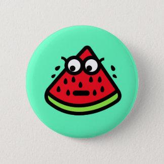 Het Zweet van de watermeloen Ronde Button 5,7 Cm