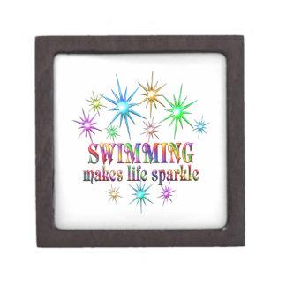 Het zwemmen Fonkelingen Premium Juwelen Doos