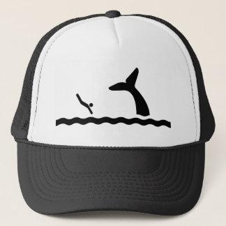 Het zwemmen met de Walvissen Trucker Pet