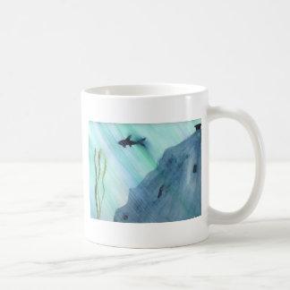 Het Zwemmen van de haai Koffiemok