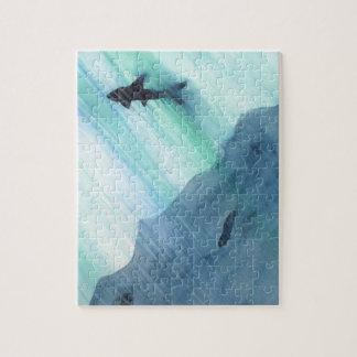 Het Zwemmen van de haai Puzzel