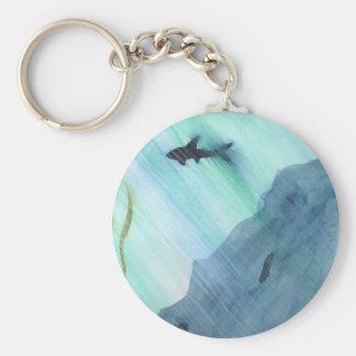 Het Zwemmen van de haai Sleutelhanger