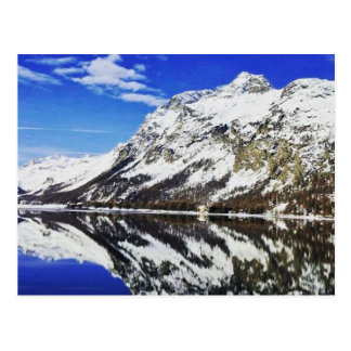Het Zwitserse Briefkaart van Alpen