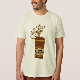 Hete Drank met de Mooie Wervelingen van de Stoom T Shirt