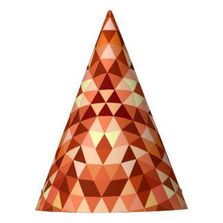 Hete driehoeksmandala feesthoedjes