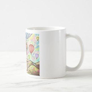 - hete haarballon koffiemok