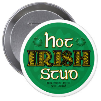 Hete Ierse Nagel (Ronde Knoop) Ronde Button 4,0 Cm