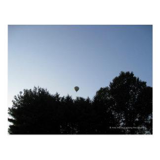 Hete luchtballon briefkaart