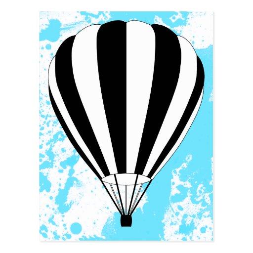 hete luchtballon wens kaart