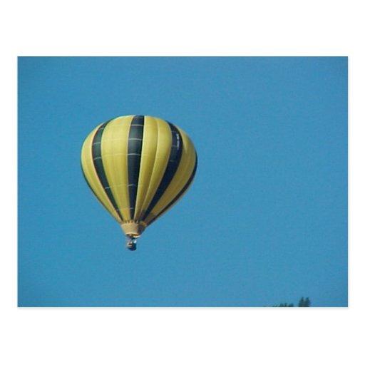 Hete luchtballon in Bernese Oberland Wenskaarten