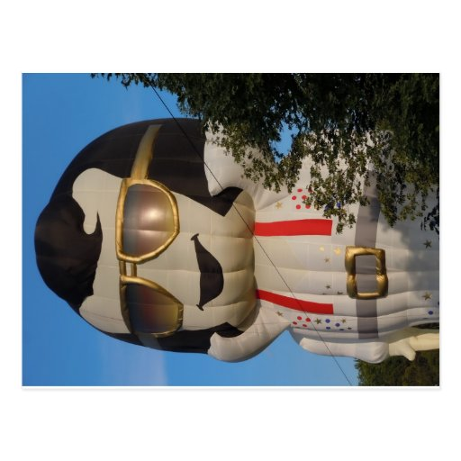Hete luchtballon in Binghamton, NY Wenskaart