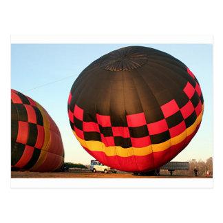 Hete luchtballon, Orlando, Florida, de V.S. 2 Briefkaart