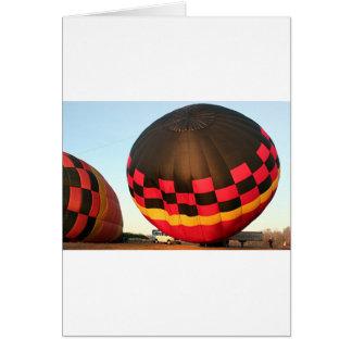 Hete luchtballon, Orlando, Florida, de V.S. 2 Wenskaart