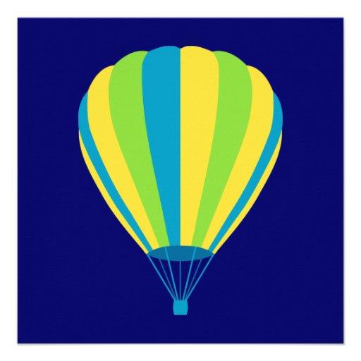 hete luchtballon gepersonaliseerde uitnodiging
