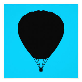 hete luchtballon persoonlijke aankondigingen