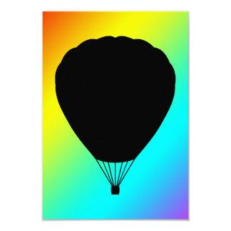 hete luchtballon aankondigingen
