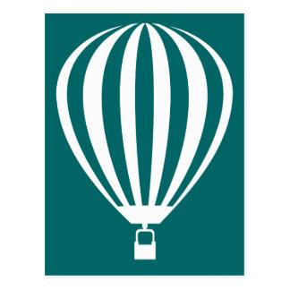 hete luchtballon v 2 wenskaart