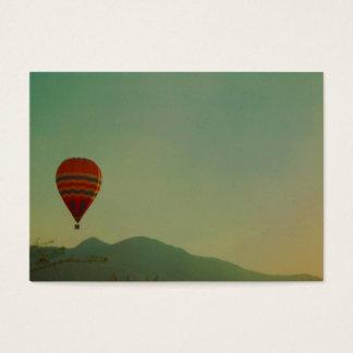 hete luchtballon visitekaartjes