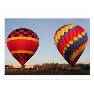 Hete luchtballons, Orlando, Florida, de V.S. 3 Briefkaart