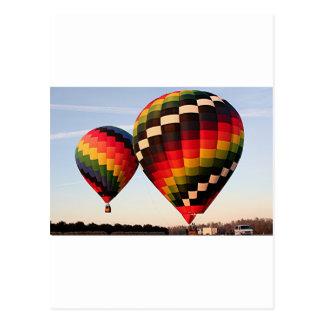 Hete luchtballons, Orlando, Florida, de V.S. 4 Briefkaart