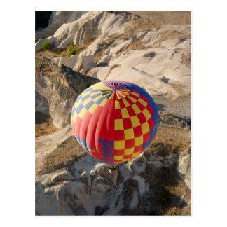 Hete luchtballons over Briefkaart Cappadocia Wens Kaarten