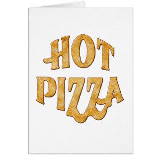 hete pizza wenskaart