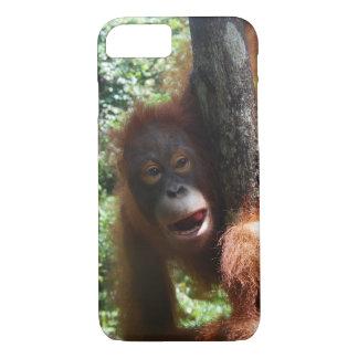 Hete Roodharige een echt dier iPhone 7 Hoesje