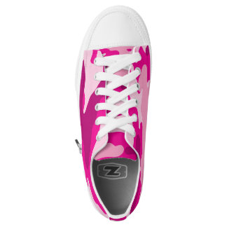Hete Roze Camo schoenen, de tennisschoen van de Low Top Schoenen