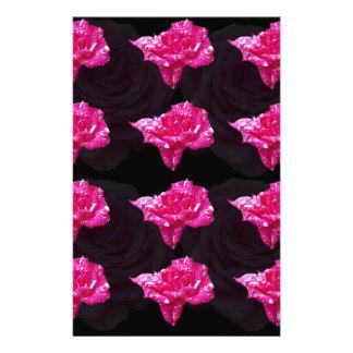 Hete Roze en de Zwarte nam Patroon toe, Briefpapier