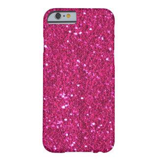 Hete Roze Faux schittert iPhone 6 hoesje