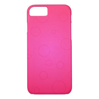 Hete Roze Heldere iPhone 7 van het Pop-art het iPhone 7 Hoesje