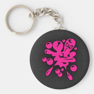 Hete Roze Paintball Sleutelhanger