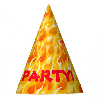 Hete vlammen feesthoedjes