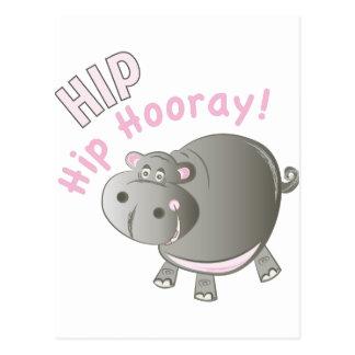 Heup Hooray Briefkaart