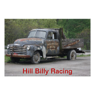 Heuvel Billy Racing Special Poster