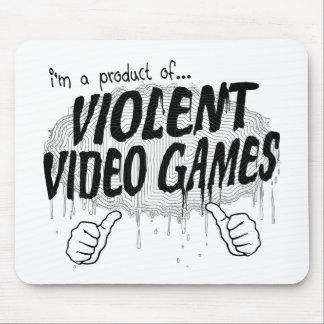 hevige videospelletjes muismatten