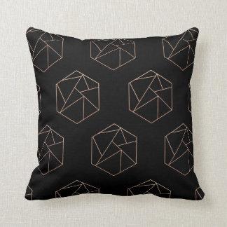 Hexagon geometrisch hoofdkussen sierkussen