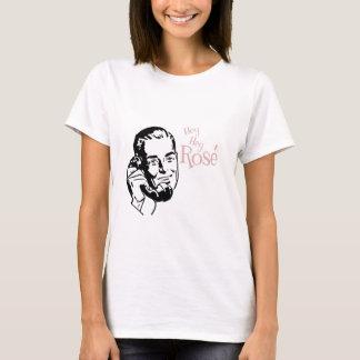 Hey Hey nam Man met Roze Teksten toe T Shirt