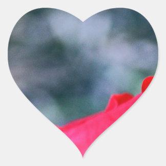 Hibiscus 4 hart sticker