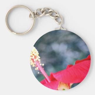 Hibiscus 4 sleutel hanger