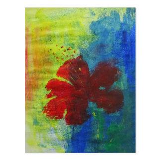 hibiscus briefkaart