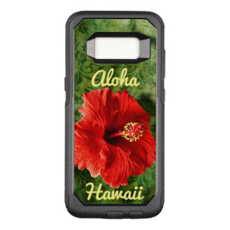 Hibiscus OtterBox Commuter Samsung Galaxy S8 Hoesje