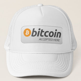 Hier Toegelaten Bitcoin - Trucker Pet